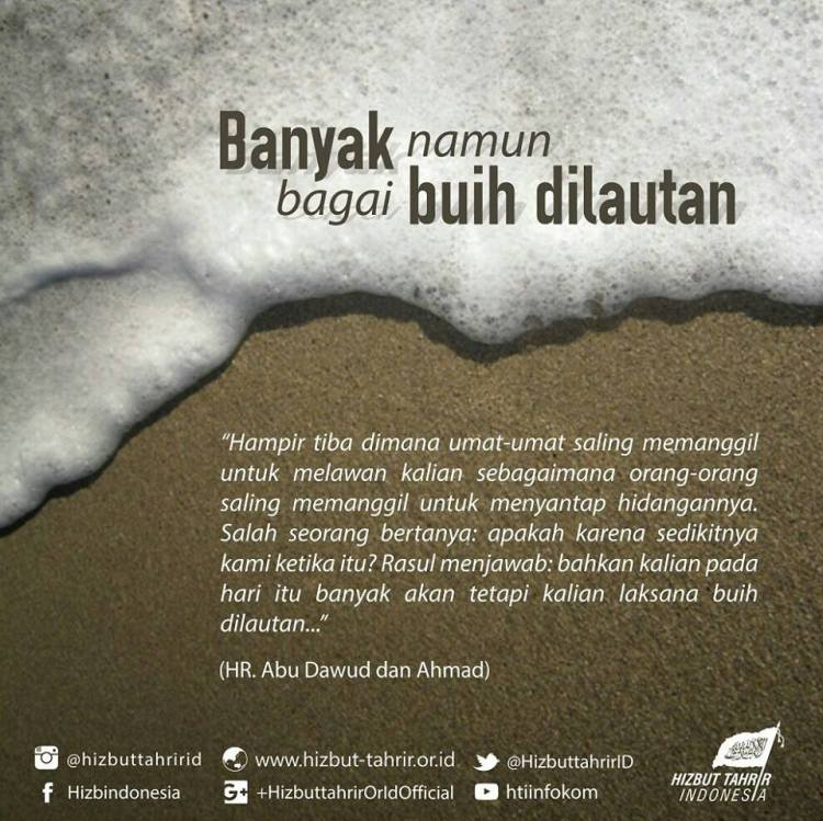 hafidz341 | Islamic writepreneur | Buih di lautan