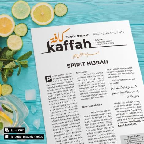 Buletin Kaffah Edisi 007 – SpiritHijrah